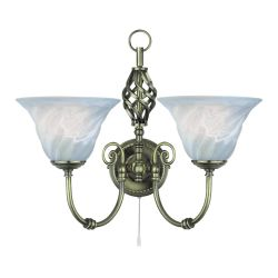 Searchlight 972-2 Cameroon Wall Lamp