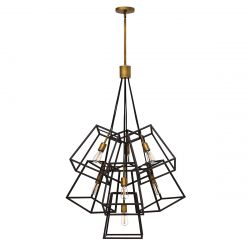 Hinkley HK/FULTON/7P Fulton Bronze 7 Light Chandelier Light