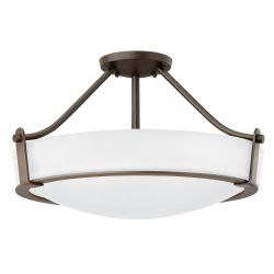 Hinkley HK/HATHAWAY/SFMB Hathaway Olde Bronze 4 Light Medium Semi-flush Light