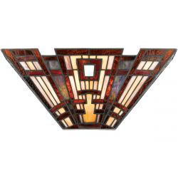 Quoizel QZ/CLASSICCRF/WU Classic 2 Light Craftsman Wall Uplighter Light