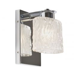 Quoizel QZ/SEAVIEW1 BATH Seaview Polished Chrome 1 Light Bathroom Wall Light
