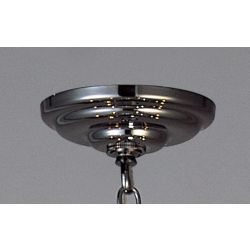 Diyas IL90003 Ceiling Black Chrome Plate And Bracket
