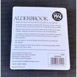 Alderbrook W4 12V 0.84W 70mA Push in Multi Colour Fairy Lights x4