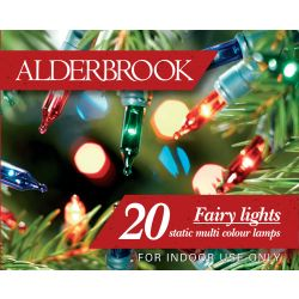 NOMA Alderbrook 20 Multi Colour Static Fairy Lights