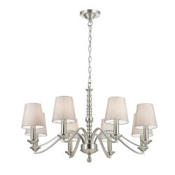 Endon ASTAIRE-8SN Astaire 8Lt Pendant 40W