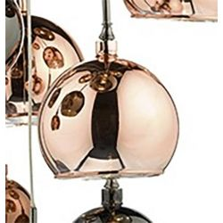 Dar Lighting AUR192 Aurelia Spare Glass - Copper Large