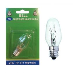 Bell 7w 240v SES E14 Nightlight Spare Bulb