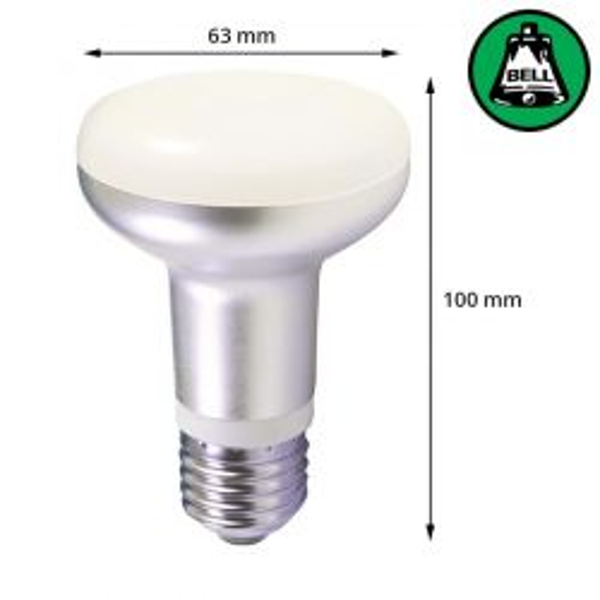 Bell Led 7w 240v ES E27 R63 Reflector Spot Lamp