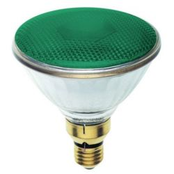 BELL 03140 80W 240V ES/E27 PAR38 Incandescent Green Reflector Lamp