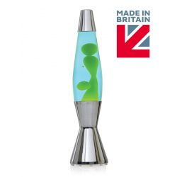 Mathmos Astro Baby Lava Lamp The Original-Blue with Green Lava