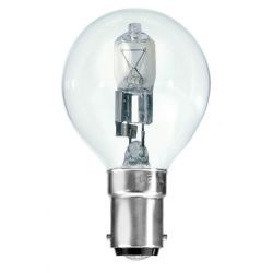 BELL 05227 42W = 55W 240V SBC B15 Halogen Energy Saver Clear Golf Ball Round