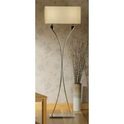Interiors 1900 MC1FSH-MC1FBS New Classics Vienna Floor Lamp & Beige Shade