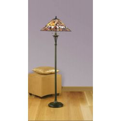 Interiors 1900 TG62/SHL-FB10 Tiffany Bernwood Floor Lamp