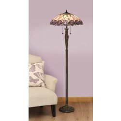 Interiors 1900 T049SH50-T046FB Tiffany Hutchinson Floor Lamp