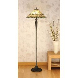 Interiors 1900 T095SH50-FB05 Tiffany Jamelia Floor Lamp