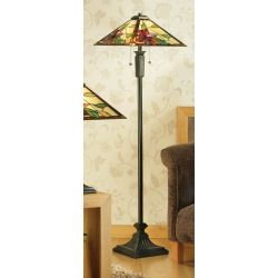 Interiors 1900 TG103SHL-FB17 Tiffany Lelani Floor Lamp