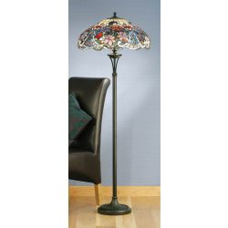 Interiors 1900 TG72SHL-FB10 Tiffany Sullivan Floor Lamp
