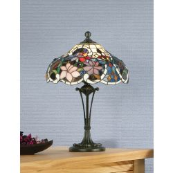 Interiors 1900 TG72SHS-TB10M Tiffany Sullivan Small Table Lamp