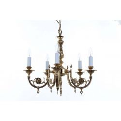 Impex Lighting SMBB00305/PB Chelsea 5 Light Polished Brass Wall Light