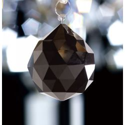 Diyas C10032 Crystal Sphere Black Without Ring 30mm