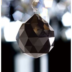 Diyas C10042 Crystal Sphere Black Without Ring 40mm