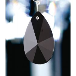 Diyas C20152 Crystal Star Pendalogue Black Without Ring 50mm