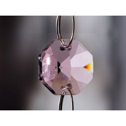 Diyas C50001 Crystal Octagon Lilac Without Ring 14mm