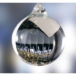 Diyas C60030 Crystal Sphere Clear Without Ring Glass Ball 30mm