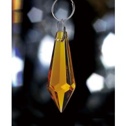 Diyas C70053 Crystal Droplet Amber Without Ring 36mm