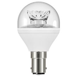 Venture LED 5.9W=40W 240V SBC B15 Cool White Round 45mm Clear Light Bulb
