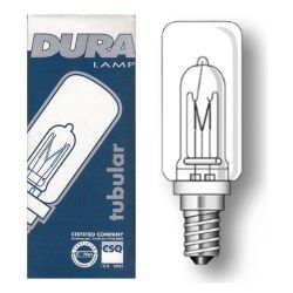 Duralamp 150W 230V ES SIngle Ended Tubular Halogen Lamp Clear (JDD E14)