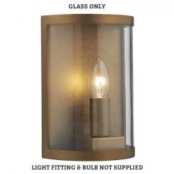 Dar Lighting DUSK SPARE GLASS AND FRONT FOR DUS2142