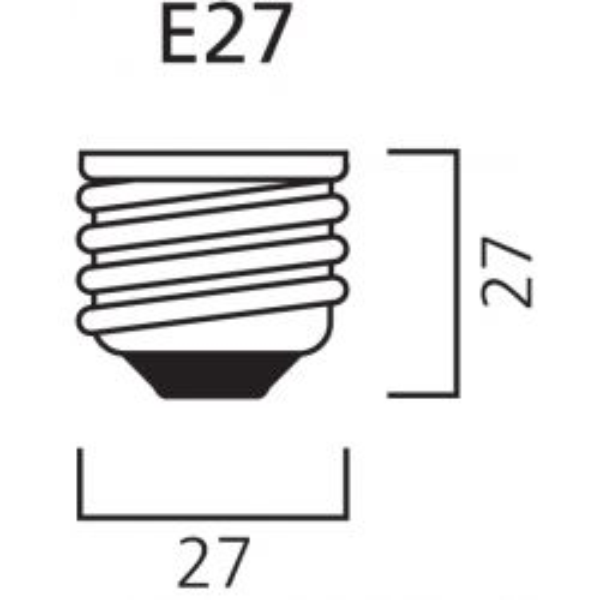 Sylvania Classic Eco R80 42W = 60w ES/E27 Halogen Reflector Spot Lamp