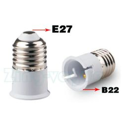 E27 to B22 Lamp Holder Adapter