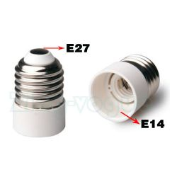 E27 to E14 Lamp Holder Adapter