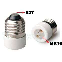 E27 to MR16 Lamp Holder Adapter