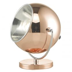 Dar Wisebuys EBB4164 Ebba Table Lamp Chrome/Copper (ex-display)