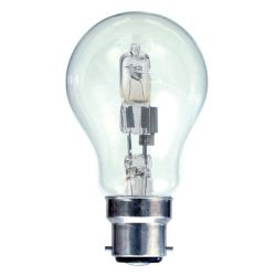 BELL 05208 28W = 40W BC/B22 240V GLS Eco Halogen Dimmable Clear Light Bulb