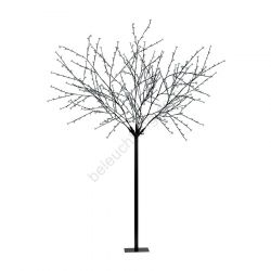 Eglo 75033 Indoor/Outdoor 2.5m 8ft Cool White LEDs Black Cherry Blossom Tree Post Light