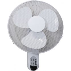 """Prem-I-Air 16"""" (40 cm) Wall Fan with Remote Control and Timer"""