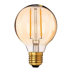 Firstlight 5944 2.5W ES E27 LED Vintage Filament 80mm Globe - Extra Warm White 2200K