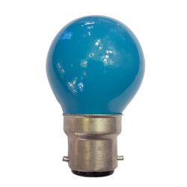 GET 40W 240V BC/B22 Blue Golf Ball Bulb