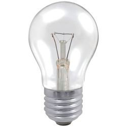 Osram 60W ES/E27 230V Dimmable Clear GLS A55 Classic A Light Bulb