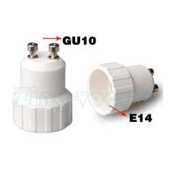 GU10 to E14 Lamp Holder Adapter