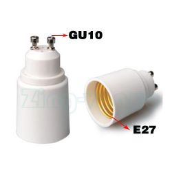 GU10 to E27 Lamp Holder Adapter
