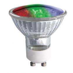 Pro-lite LED 1.8W 240V Colour Changing GU10 Spot Lamp
