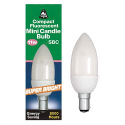 Bell Lighting 11 Watt BC B15 Compact Fluorescent Candle Bulb