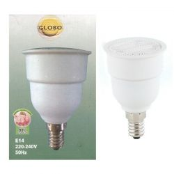 Globo 7W = 35W  R50 SES E14 Energy Saving Compact Fluorescent Reflector