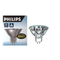 Philips 20W Low Voltage 12V GU5.3 Dichroic 50mm Halogen Spot Lamp, 36 degree