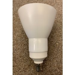 OSRAM 15W=75W DULUX EL REFLECTOR B22 SHADED LIGHT BULB